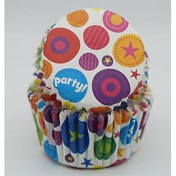 Party Cupcake Kapsülü 100 Adet