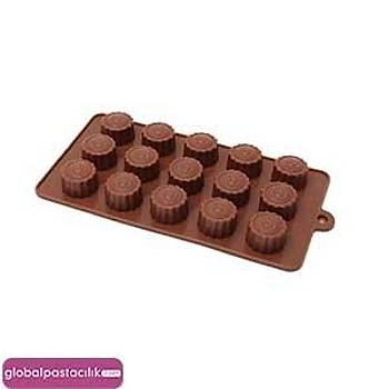 Silikon Çikolata Kalýbý Güneþ Figürü