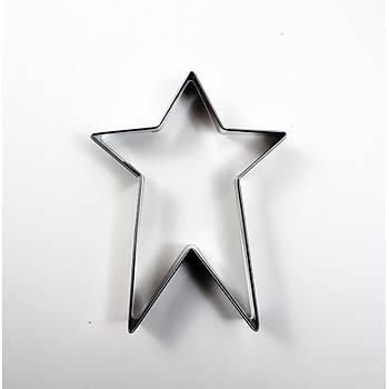 Kuyruklu Yıldız Modeli Kurabiye Kalıbı