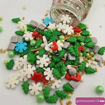 Dr Mix Sprinkles Þekerleme Yýlbaþý Temalý No:6 100gr