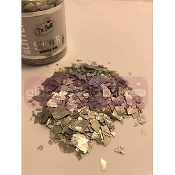 Glitter Gümüþ Sim 15gr