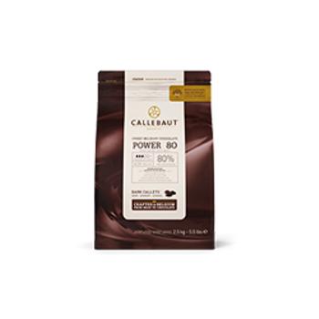 Callebaut-Power80 Bitter Çikolata %80 (2,5Kg)
