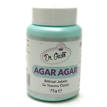 Dr Gusto Agar Agar Tozu- Bitkisel Jelatin (75 gr)