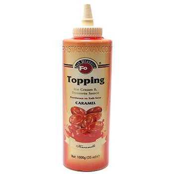 Fo Karamel Aromalý Topping Sos (Dondurma Sosu)