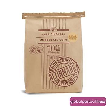 Altýnmarka Beyaz Pul Kuvertur Çikolata 5 kg