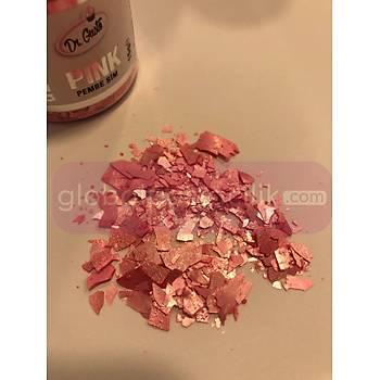 Glitter Pembe Sim 15gr
