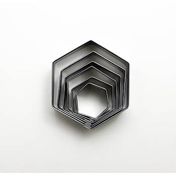 Altýgen Metal Volovan Set