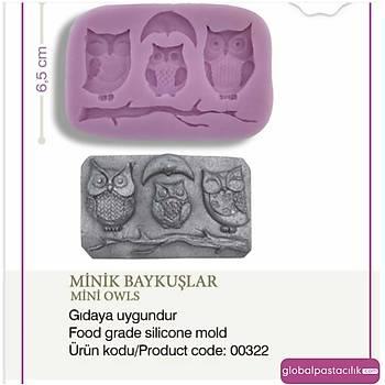 Minik Baykuþlar Silikon Kalýbý