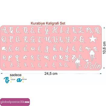Stamp Curly Kurabiye Kaligrafi Modeli