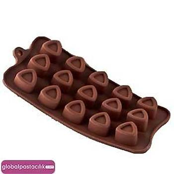Silikon Çikolata Kalýbý Üçgenler