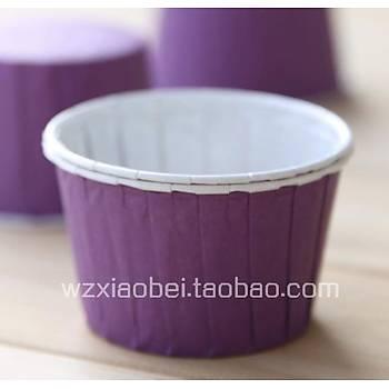 Cup Cake Kapsülü Mor 50Ad