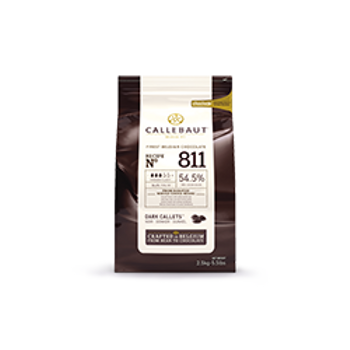 Callebaut Bitter Çikolata 811 %54,5 (2,5Kg)