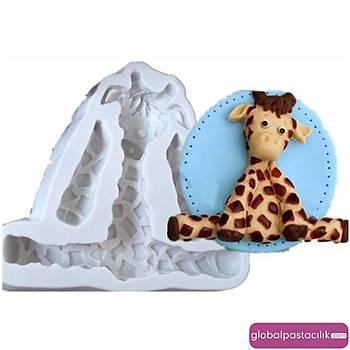 Zürafa Silikon Kalýp