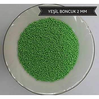Yeþil 2 mm Boncuk Sprinkles 45 gr