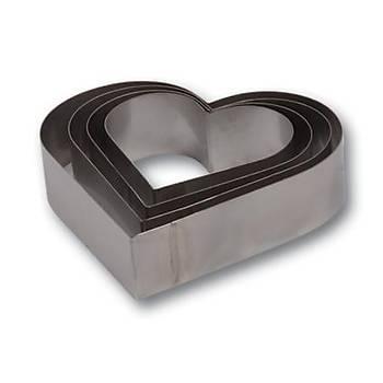 Kalp Çember Set 3 Boy H 10 cm