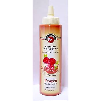 Fo Frambuaz Meyveli Sos (Frozen) (6x1) (%60 Frambuaz) 1 Kg