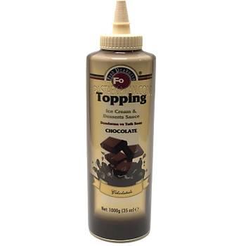 Fo Çikolatalý Topping Sos ( Dondurma Sosu)