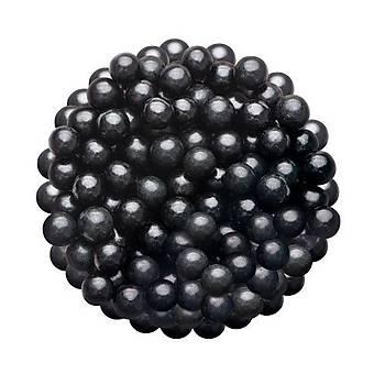 Siyah Büyük Boncuk  Draje  Sprinkles 45gr