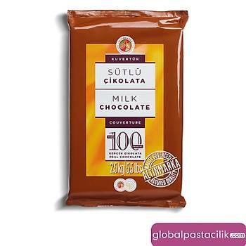 Altýnmarka Sütlü Kuvertür Çikolata %29 2,5kg