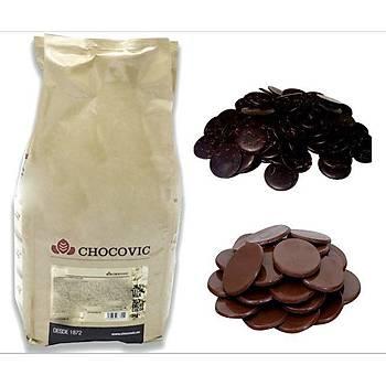 Chocovic Bitter Pul Çikolata 1 Kg
