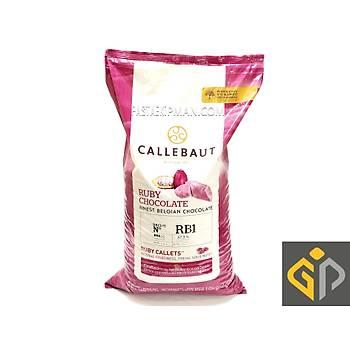 Callebaut Ruby Yakut Çikolata %47,3 (10Kg)