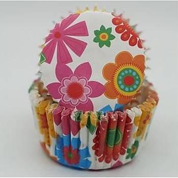 Çiçekli Kek  Kapsul 100 ad.