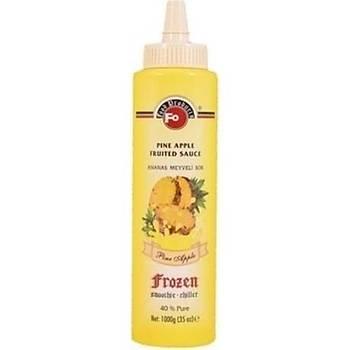 Fo Ananas Meyveli Sos (Frozen) (% 30 Ananas) 1 Kg