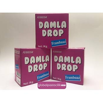Ferrosa Frambuaz Damla Drop 1kg