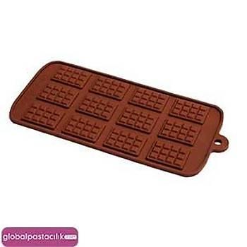 Silikon Çikolata Kalýbý Tablet Figürü