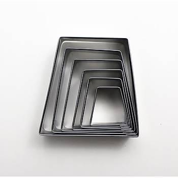 6'LI  Piramit Volovan Metal Set