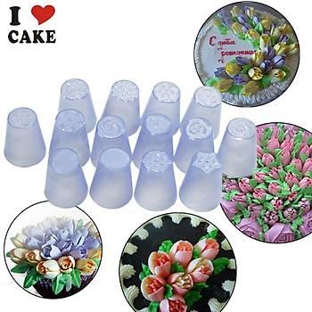 Plastik Rus Çiçek Duyu no6
