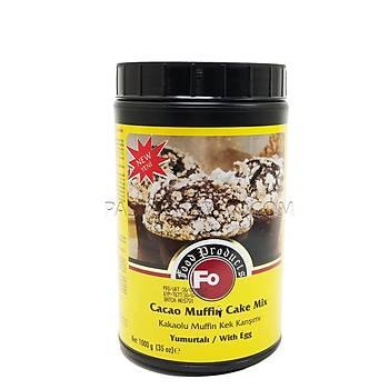 Fo Kakaolu Muffin Kek Karýþýmý Yumurtalý (1Kg)