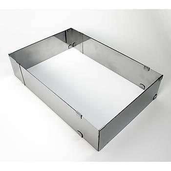Ayarlı kare Çelik Kalıp H:10CM G:20*20-40*40