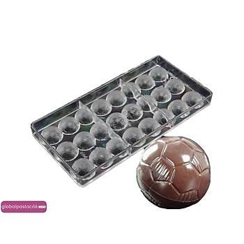 Polikarbon Çikolata Kalýbý Top