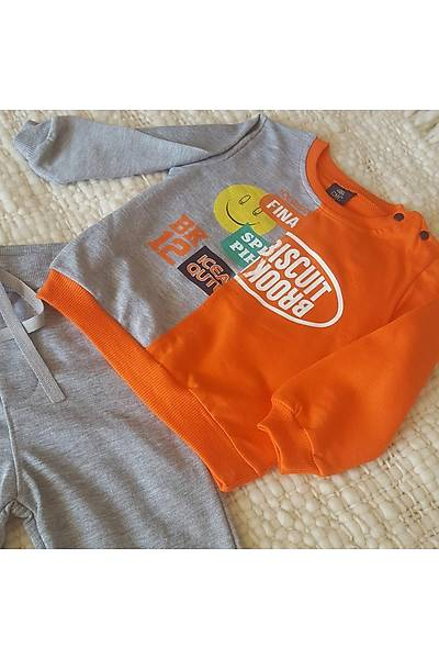 Gülmece Erkek Bebek Ýkili Spor Takým emojili AYD201008