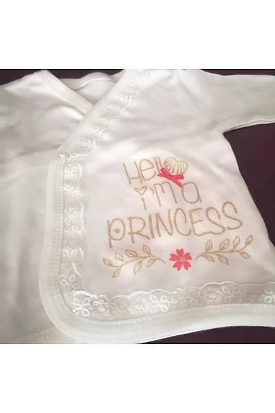 Bebetto Pamuklu Beþli Beyaz Prenses Zýbýn seti BEBET20520
