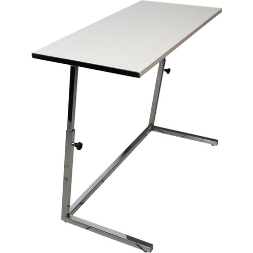 Yükseklik ayarlý zigon ekru laptop sehpasý