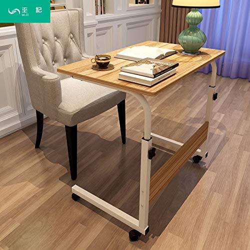 Yükseklik Ayarlý Tekerlekli Laptop Sehpasý Ofis-Ev Çalýþma Masasý