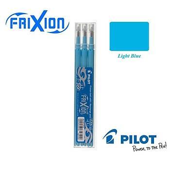 Pilot Frixion Pastel Mavi Light Blue 0.7 Silinebilir Kalem Yedeði (3 ADET)