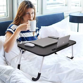 Yatak Koltuk Üstü Laptop Yemek Kahvaltý Hasta Ders Sehpasý Masasý
