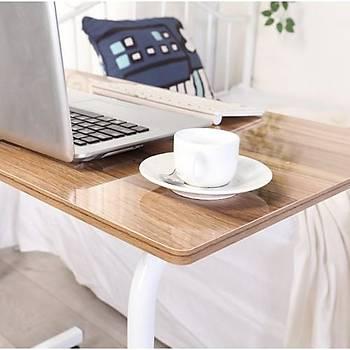 Koltuk Kenarý Yerden Yükseklik Ayarlý Çok Amaçlý Laptop Sehpasý