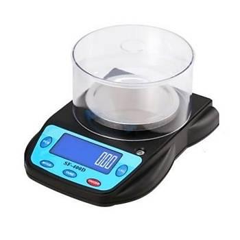 SF400D 600gr Kapasite 0.01gr Hassasiyet Dijital Göstergeli Elektronik Terazi Tartý