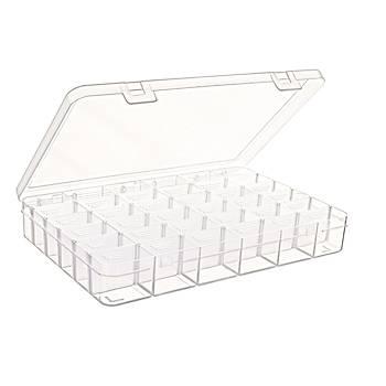 36 Bölmeli Ayarlý Plastik Organizer Kutu