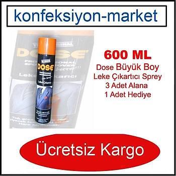 600ML Dose Yað ve Çok Amaçlý Leke Çýkartýcý Sprey