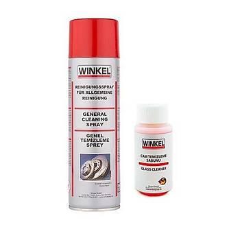 Winkel Fren Balata Genel Temizleme Sprey 500ML ve Cam Temizleme Sabunu