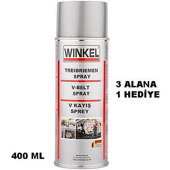 Winkel V Kayýþ Yaðlayýcý Bakým Spreyi 400 ML