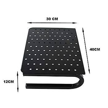 Masa Üstü Ekran Monitor Laptop Yazýcý Yükseltici Metal Ayak Stand