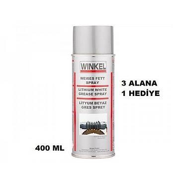 Winkel Lityum Beyaz Gres Sprey 400 ml