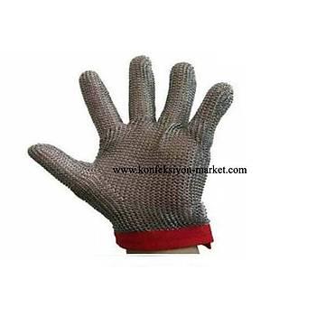 Metal Çelik Eldiven 5 Parmak S-M-L-XL (ÇELÝK ÖRGÜ)