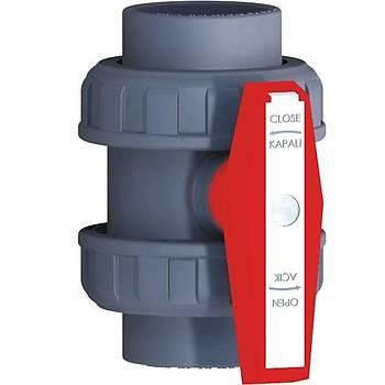 PVC Küresel Su Vanası 90